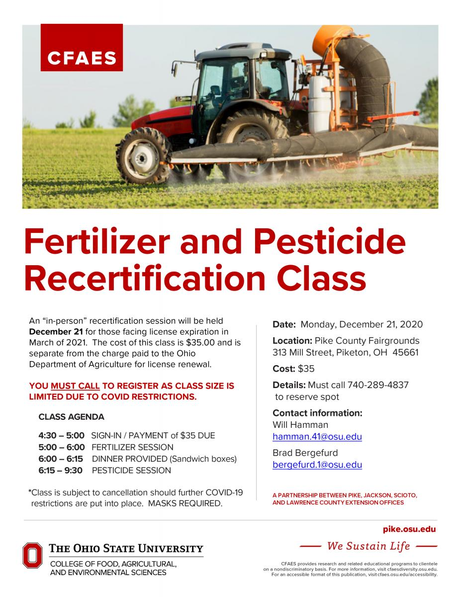 Pesticide Recertification